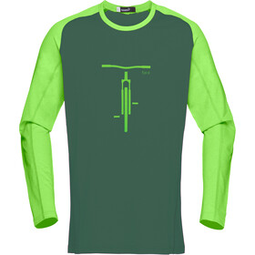 Norrøna Fjørå Equaliser Lightweight Long Sleeve Shirt Men Bamboo Green